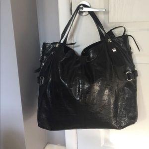 Francesco Biasa leather tote bag